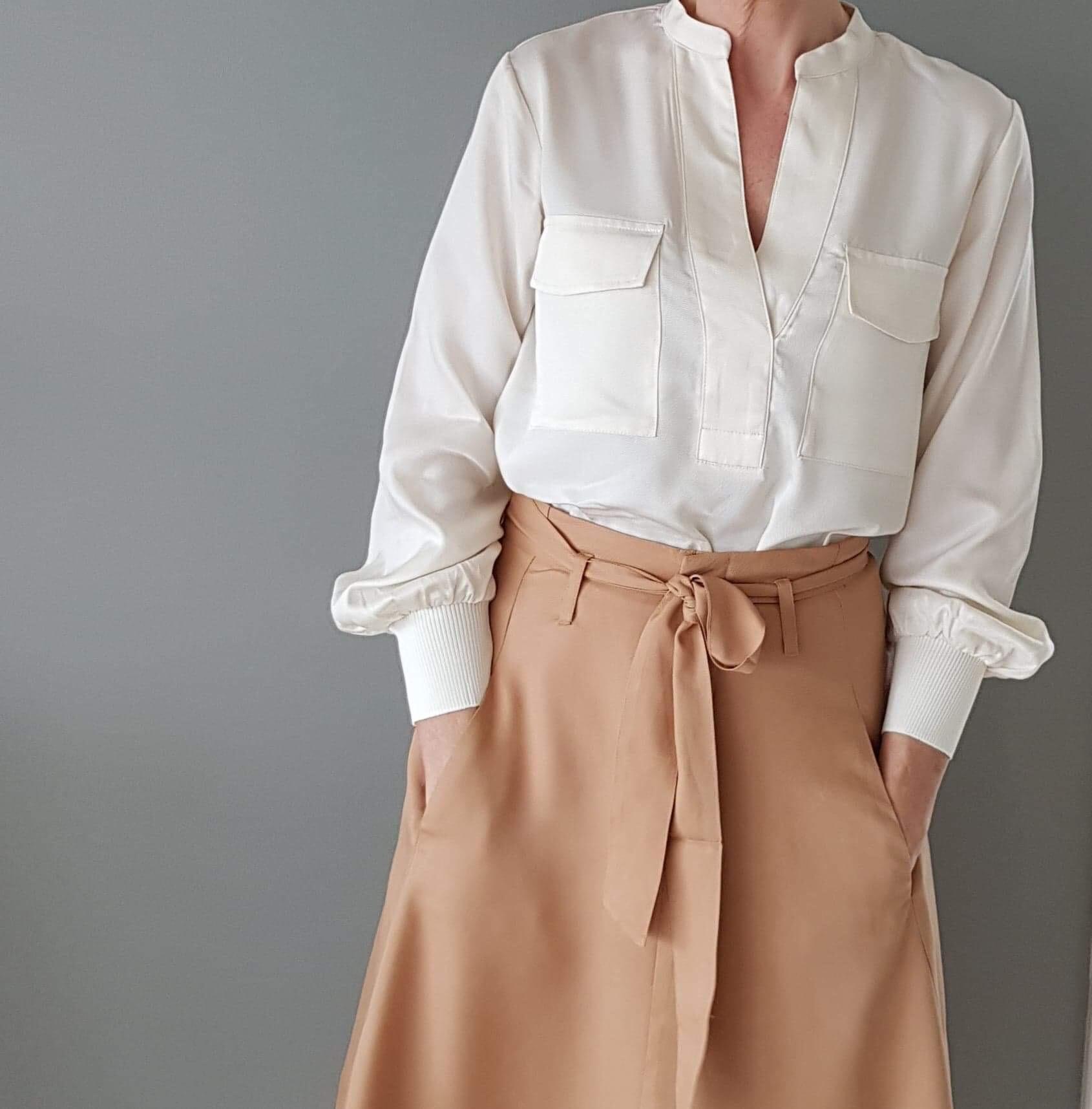 Saint Tropez Woven bukse Ivyelli