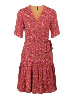 Rislo ss wrap dress - YAS