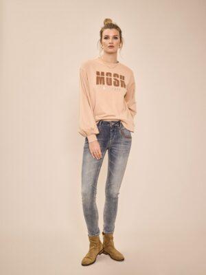 Zanna O-LS Sweat shirt - Mos Mosh