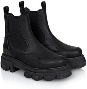 Ulrica Crazy Horse Vaca Alfa - Black - Shoe biz copenhagen