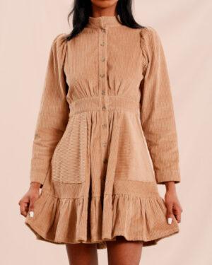 Corduroy Mini Dress - By Timo